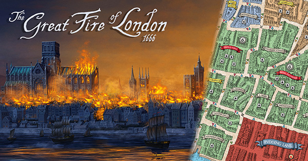 Great Fire of London 1666 3rd Edition (2017) -  Medusa Games